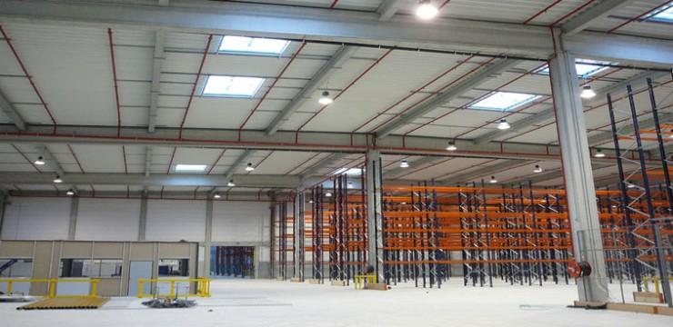 ECLAIRAGE Centres Logistiques Grands Halls